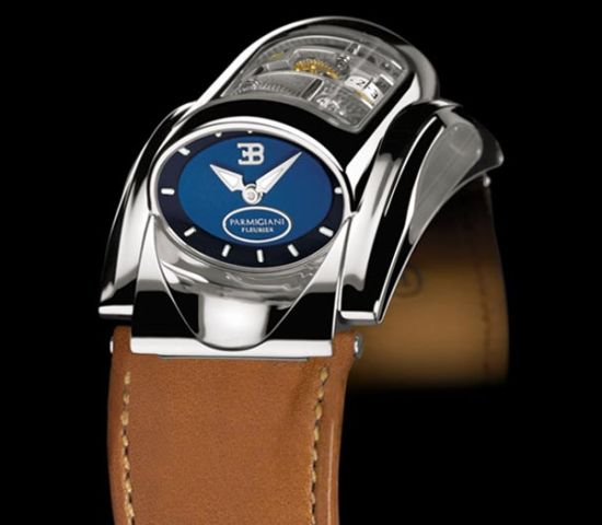 Parmigiani Fleurier Bugatti: A Car in a Watch For $233,900