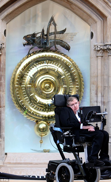 Stephen Hawking unveils the clock that eats time!