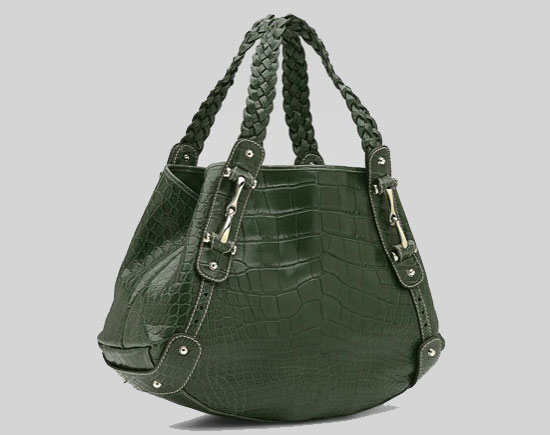 Elite Handbag: $22,900 Gucci Crocodile Bag