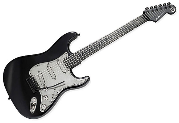 Harley Davidson Limited Edition Stratocaster Guitar From Fender