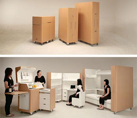 Kenchikukagu Mobile Furniture