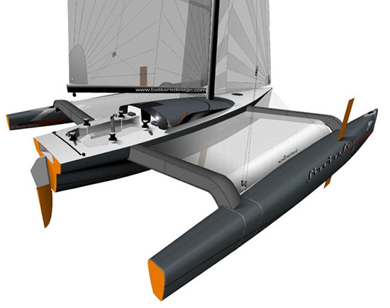 Krysalid'42 Trimaran Offers $600,000 Sail