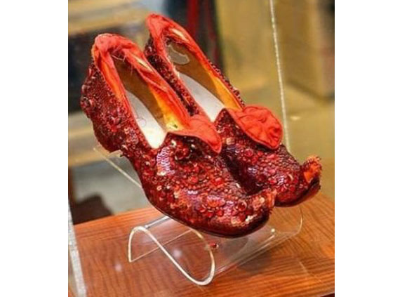 Judy Garland's Oz Ruby Slippers on Sale
