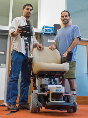 Thy Wish Is My Command says the Voice-Controlled Robot Wheelchair