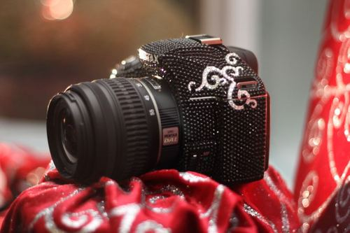 Bling Makeover for Pentax K-m DSLR