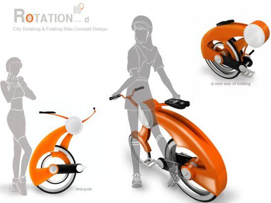 Rotation bike