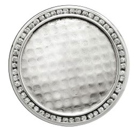 Bejeweled Golf Ball Marker For Golf Aficionados, Courtesy Shano