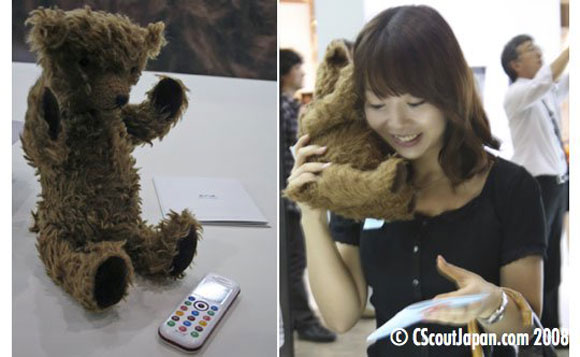 Kuma Teddy Bear Phone for Pampered Kids