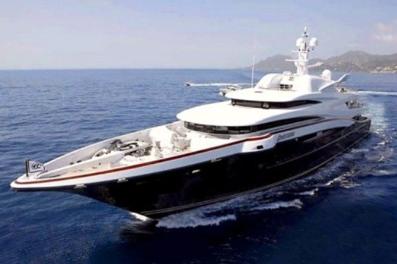 Show Stealer at the Monaco Yacht Show–$200 million Anastasia