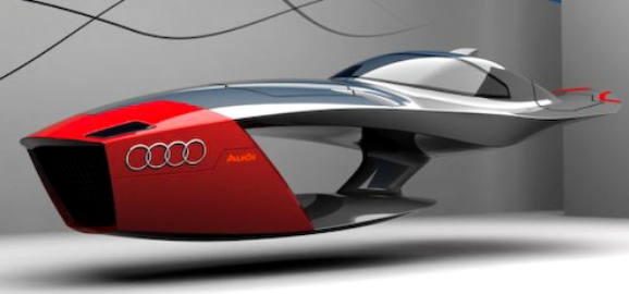Audi Calamaro- your Future Flying Car!