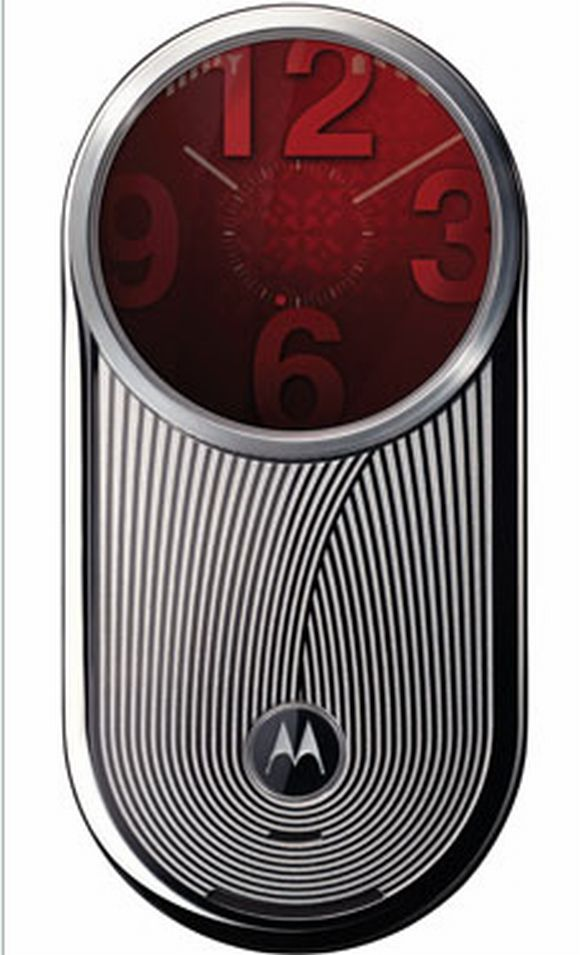 auramoto3 Motorola Aura: Worlds First Circular Cell Phone Screen Bowls You over Clean!