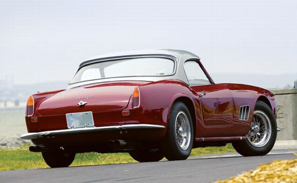 Red Hot Scorcher: 1963 Ferrari 250 GT SWB California Spyder up for grabs!