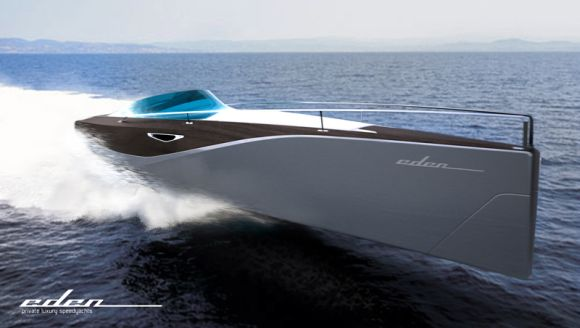Eden Motoryacht: Sleek and Stylish Luxury Carrier for the Deep Blue Sea!
