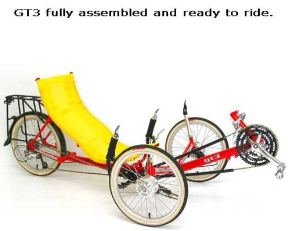 Recumbent Bike for those who Gave Up Cycling