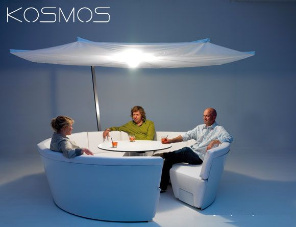 Kosmos: Creating an Ambient Seating Space with Serene Features