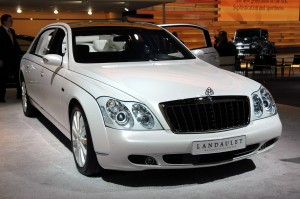 Maybach Landaulet : Only Sky is the Limit