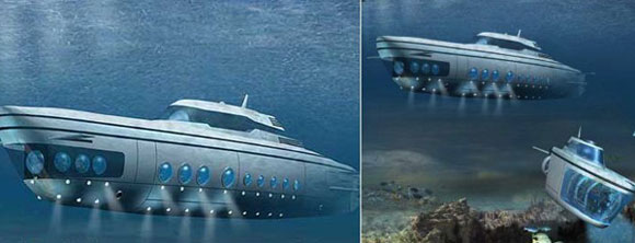 Get a Personal Luxurious Submarine-Phoenix 1000