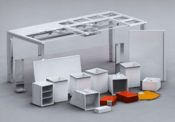 osom 3 o7lgo 48 Out of Sight Out of Mind Modular Table Concept