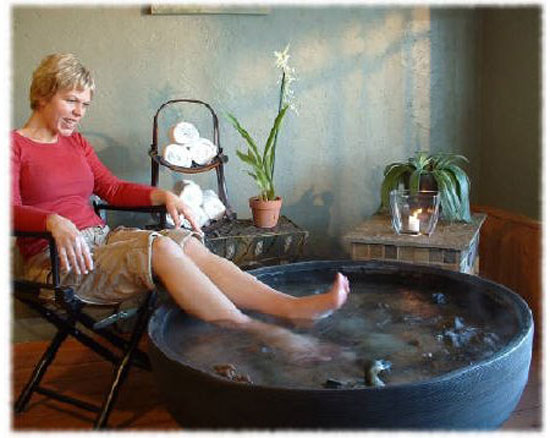 Get A Patio Foot Spa And You Will Never Leave Home