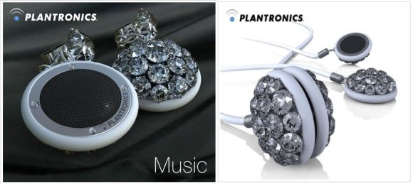 Altec Lansing Bejeweled Sound Circles: Getting in Touch with the Feminine Side!