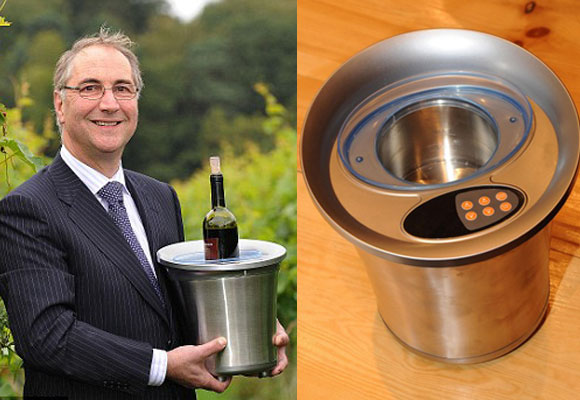 Wine Ager Brews Vintage in 30 Minutes Flat