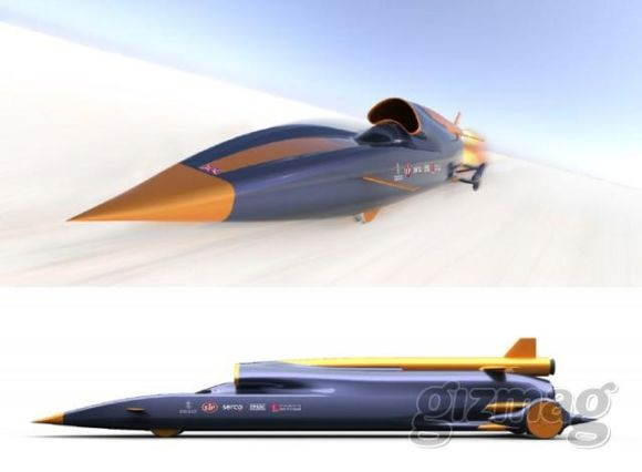 Bloodhound: Zeroing Down on the World Land Speed Record!