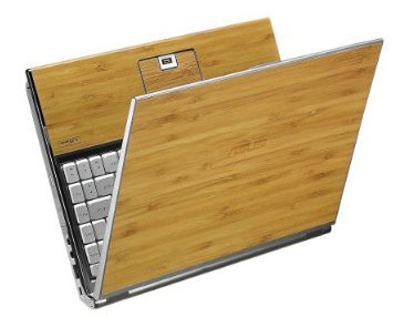 ASUS U6V-B1-Bamboo laptop: Stylish design promotes eco-consciousness!