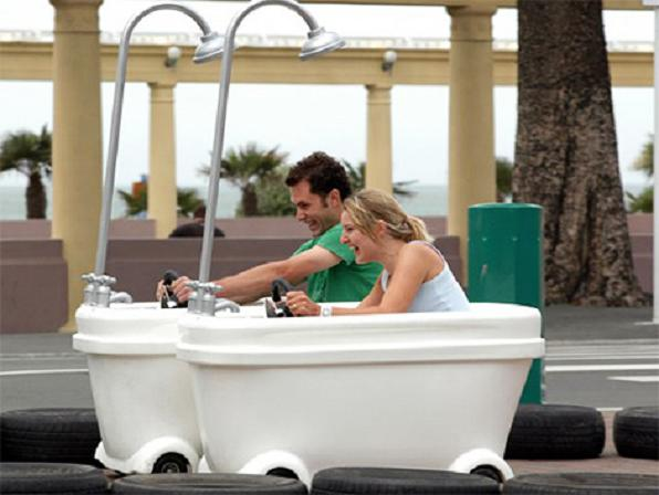 Enjoy The Thrill Of Driving Your Bathtub