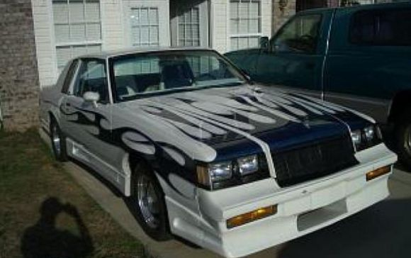 1981 Buick Regal: Adorned with Full Mullet Airbrush Mural!