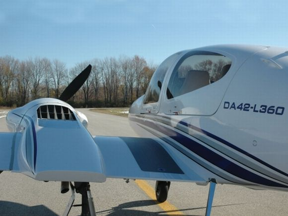 Diamond Aircraft unveils DA42 L360 twin: Elegance in Flight!