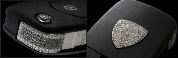 Diamond-Studded Lamborghini Key: Sparkling elegance!
