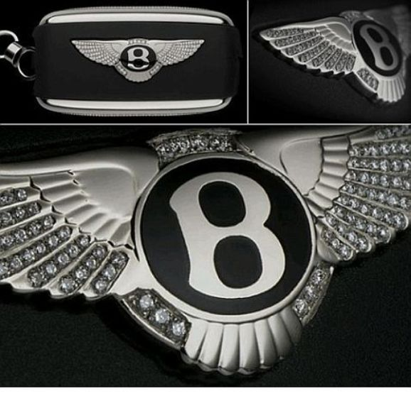 Diamond Studded Key for your Bentley!