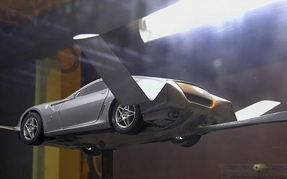 Flying Car Autovolantor: Ferrari 599 GTB to be modified into a version for the skies!