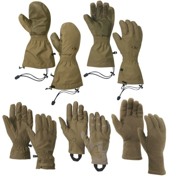 Modular Gloves: Cutting edge military gloves for civilian use!