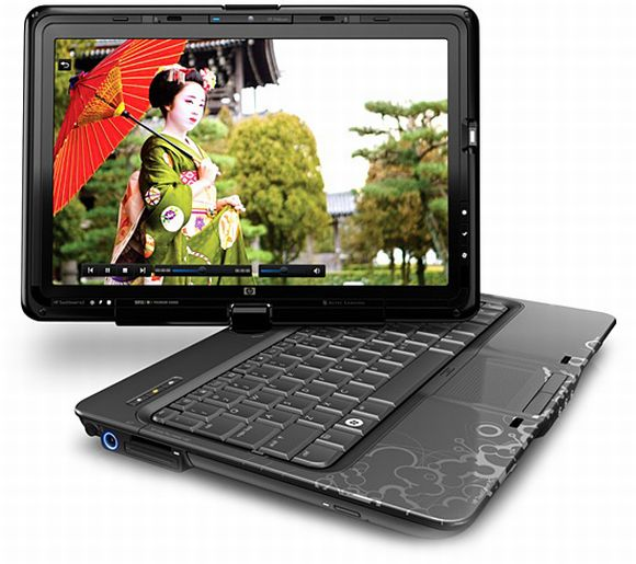 HP TouchSmart tx2 notebook: Swiveling Magic!