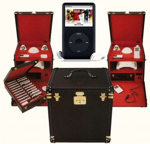 Bespoke Vuitton iPod Trunk: Crafted with care for Karl Lagerfeld