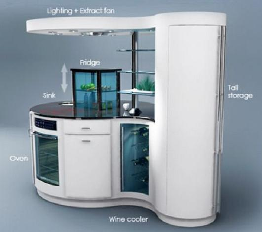 Compact Kitchens All In One: A Compact Kitchen Unit For Modern Homes