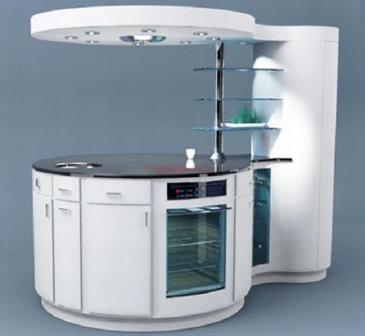 A Compact Kitchen Unit For Modern Homes