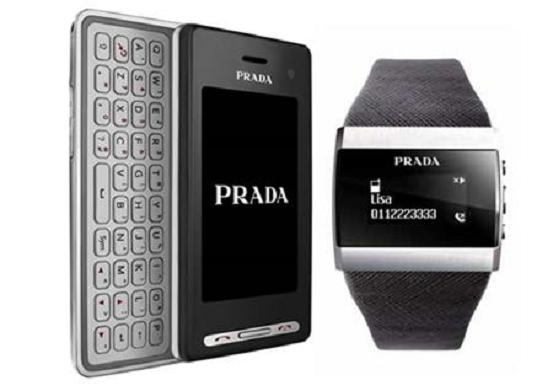 prada Now You Wrist Wears PRADA (Phone)