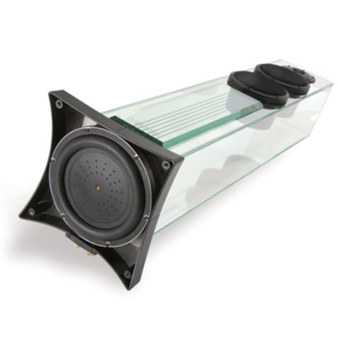 Glassy Speakers by Niagara!