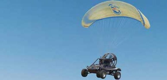 Skycar: A Flying car on a trip from London to Timbuktu!