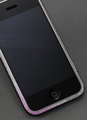 Diamond Encrusted IPhones for a Cause!