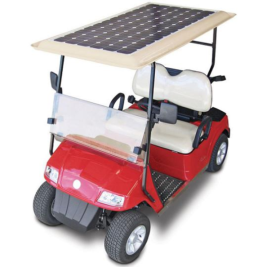 For Solar-Powered Golfing Trips