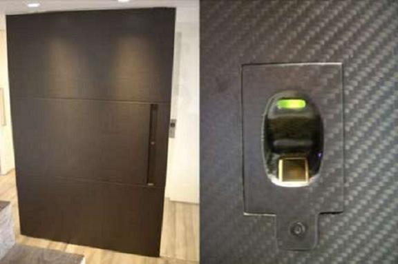 $15,000 Carbon Fiber Door to Enrich Your Interiors, Courtesy Patrick Choate