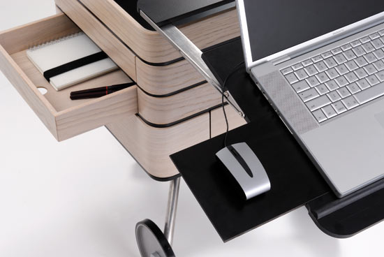 Ci Desk: Compact Mobile Desk
