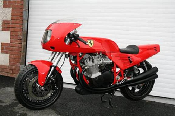 ferrari bike bonhams 03 1995 Ferrari May Fetch $300K at Bonhams Auction