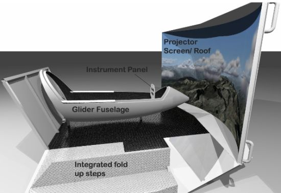 gliding-simulator