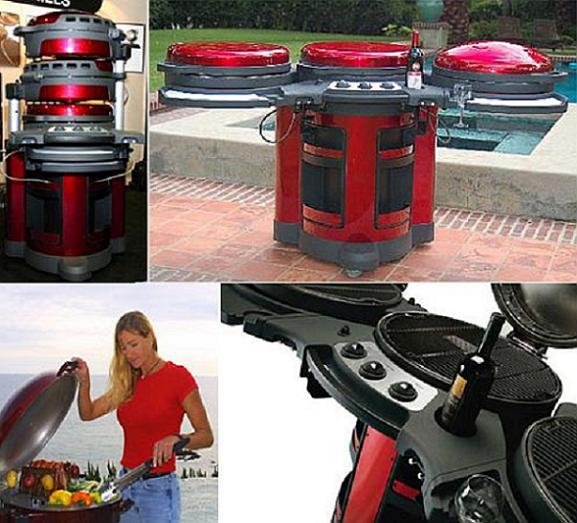 This Cool Grill Station Will Sweep You Away!