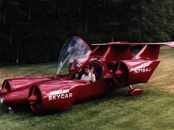 A Personal Skycar Finally Becomes A Reality!