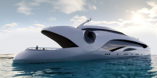 oculus by e  kevin schopfer Oculus By Kevin Schöpfer: Luxury Yacht Or Mechanical Whale?